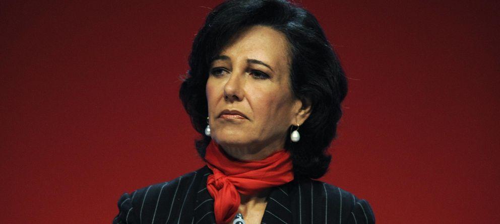 Foto: La presidenta del Banco Santander, Ana Botín (Reuters)