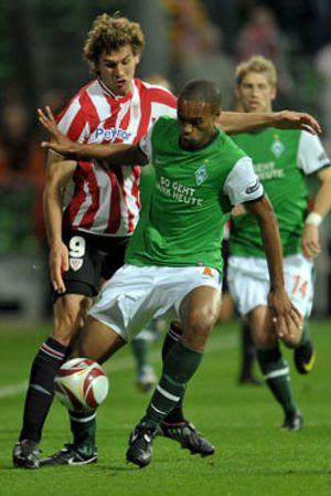 El Athletic no se escapa de la pegada del Bremen