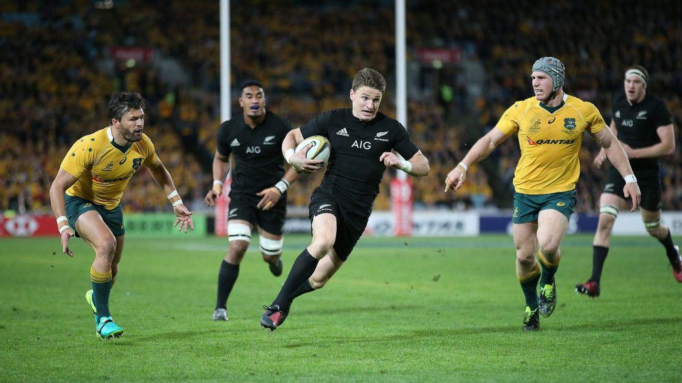 Nace otra estrella en los All Blacks: Barrett lidera la humillación a Australia