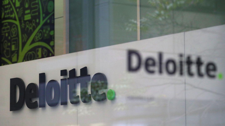 Logo de Deloitte.