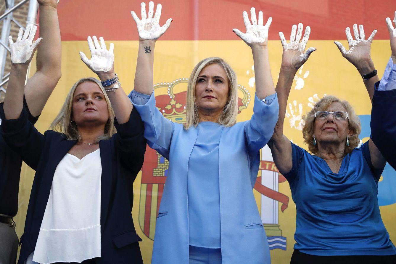 Foto: Lágrimas, silencio y aplausos: Iglesias, Rajoy, Carmena... homenajean a Miguel Ángel Blanco