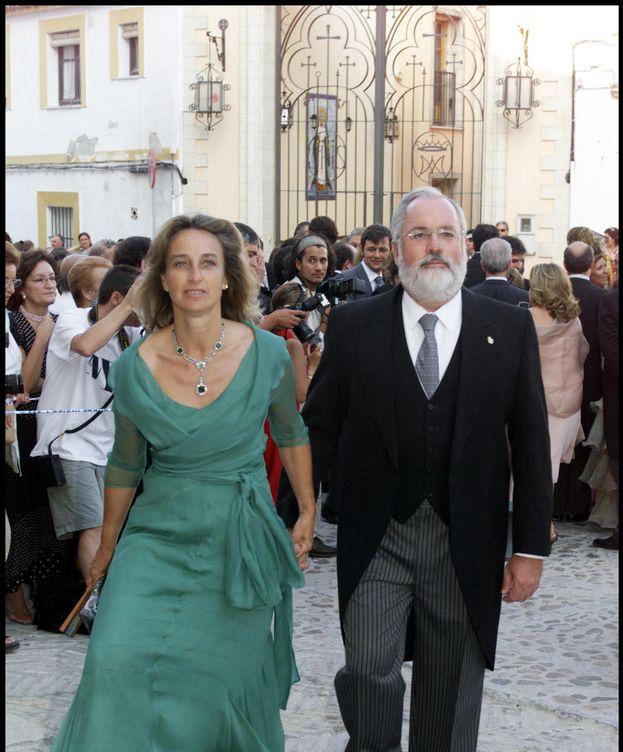 Foto: Micaela Domecq y su marido, el exministro y consejero europeo Arias Cañete (Gtres)