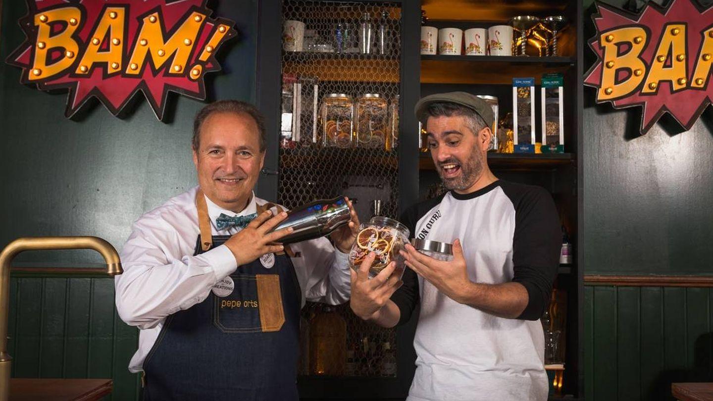 Pepe Orts y Diego Cabrera en Salmón Gurú
