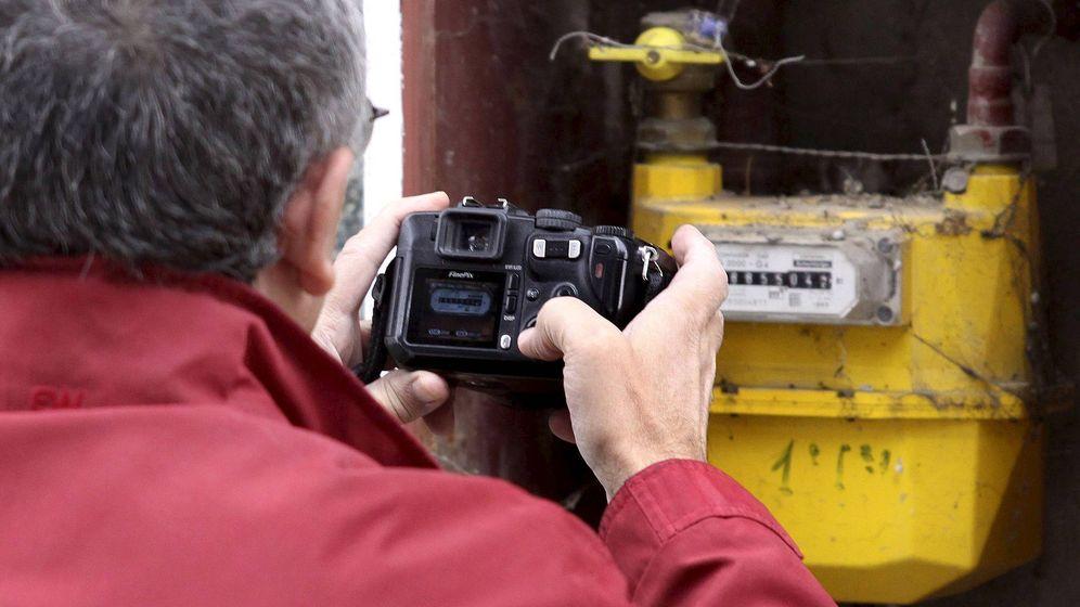 Foto: contador de gas de una vivienda. (EFE)