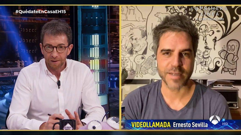 Ernesto Sevilla recuerda el momento más ridículo de la infancia en 'El hormiguero': Lo pasé fatal