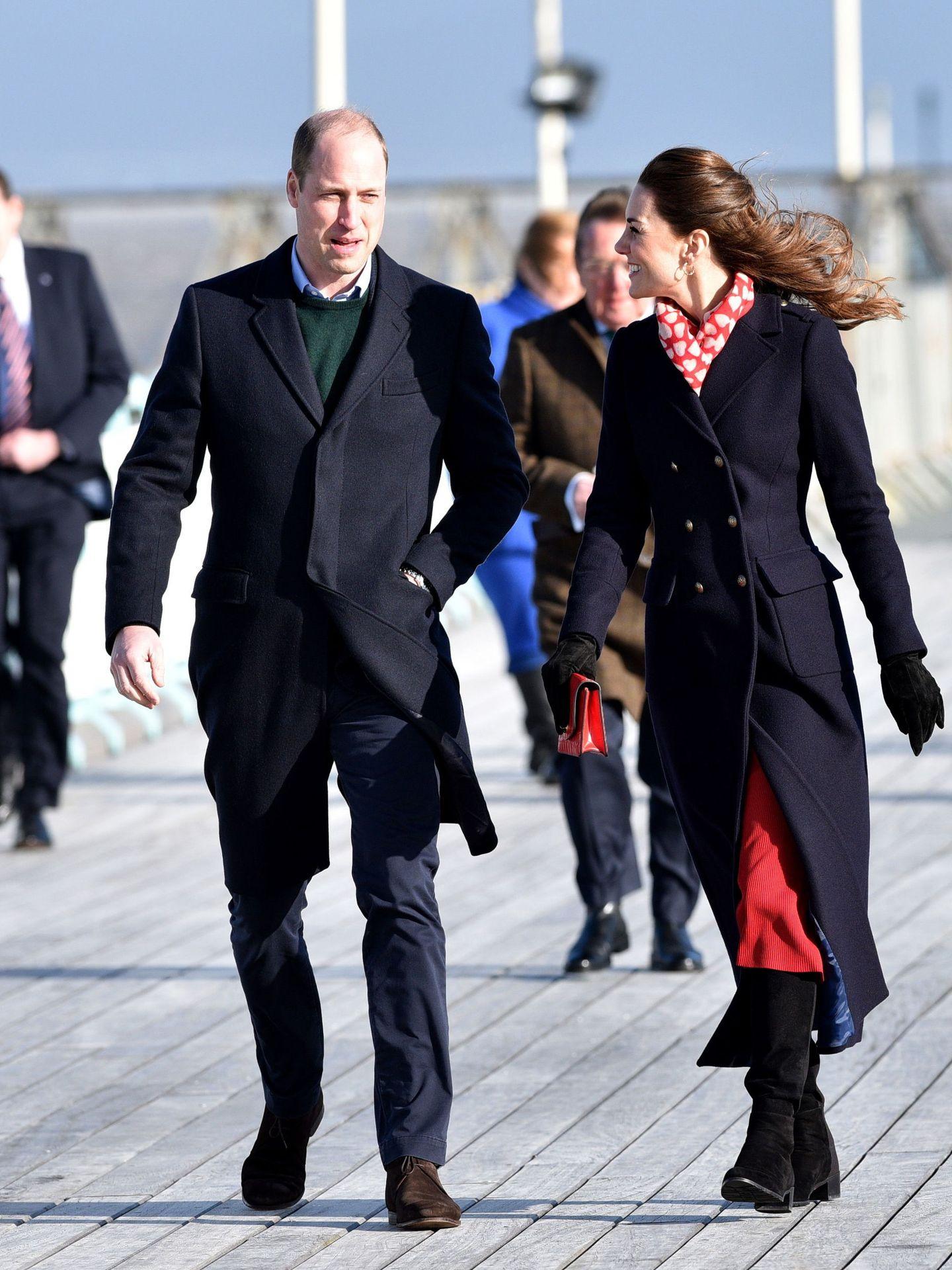 Los duques de Cambridge. (EFE)