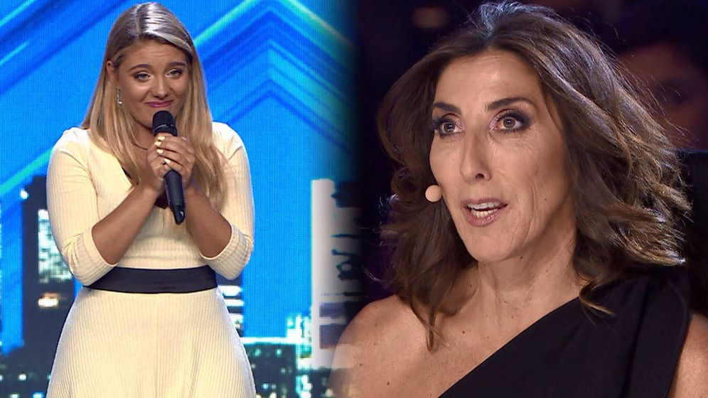 Foto: Paz Padilla, en 'Got Talent'. (Telecinco)