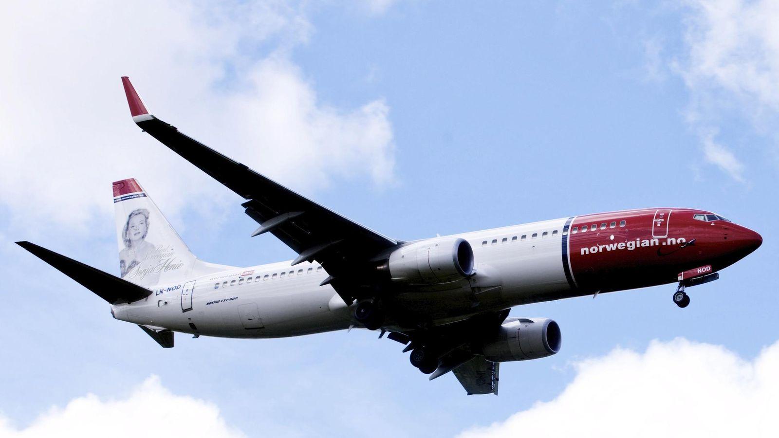 Foto: Un Boeing 737-800 de Norwegian (Reuters)