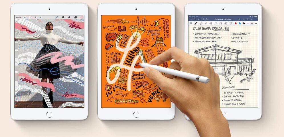 Foto: Vista de los nuevos iPad mini. (Apple)