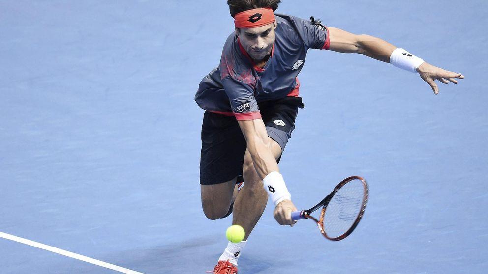 Un gran Murray gana al errático Ferrer, que se complica el Torneo de Maestros