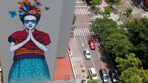 Concierto de Rosalía en Londres y gran mural en honor a Frida Kahlo: el día en fotos