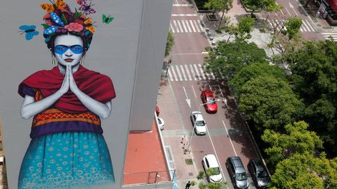 Gran mural en honor a Frida Kahlo