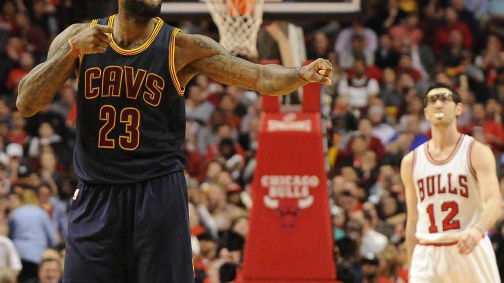 Foto: Cleveland Cavaliers elimina a los Bulls en su lucha por el Anillo.
