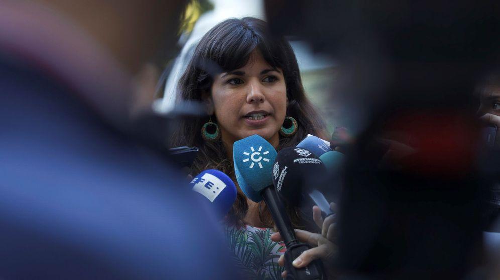 Foto:  La secretaria general de Podemos Andalucía, Teresa Rodríguez. (EFE)