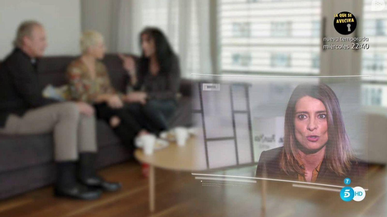 Foto: Sandra Barneda en 'Mi casa es la tuya'. (Mediaset España)