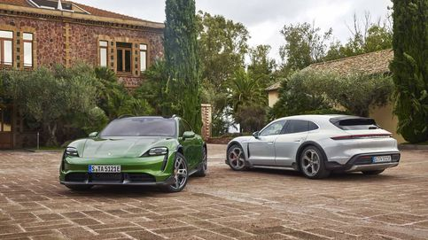 Porsche ya tiene su primer SUV eléctrico, el Taycan Cross Turismo