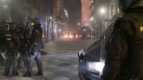 Madrid y Cataluña prevén hoy violentas protestas en apoyo a Hasél