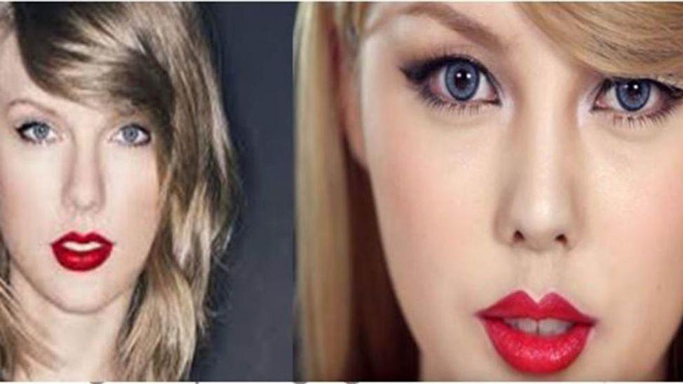Así se transforma una artista del maquillaje en Taylor Swift