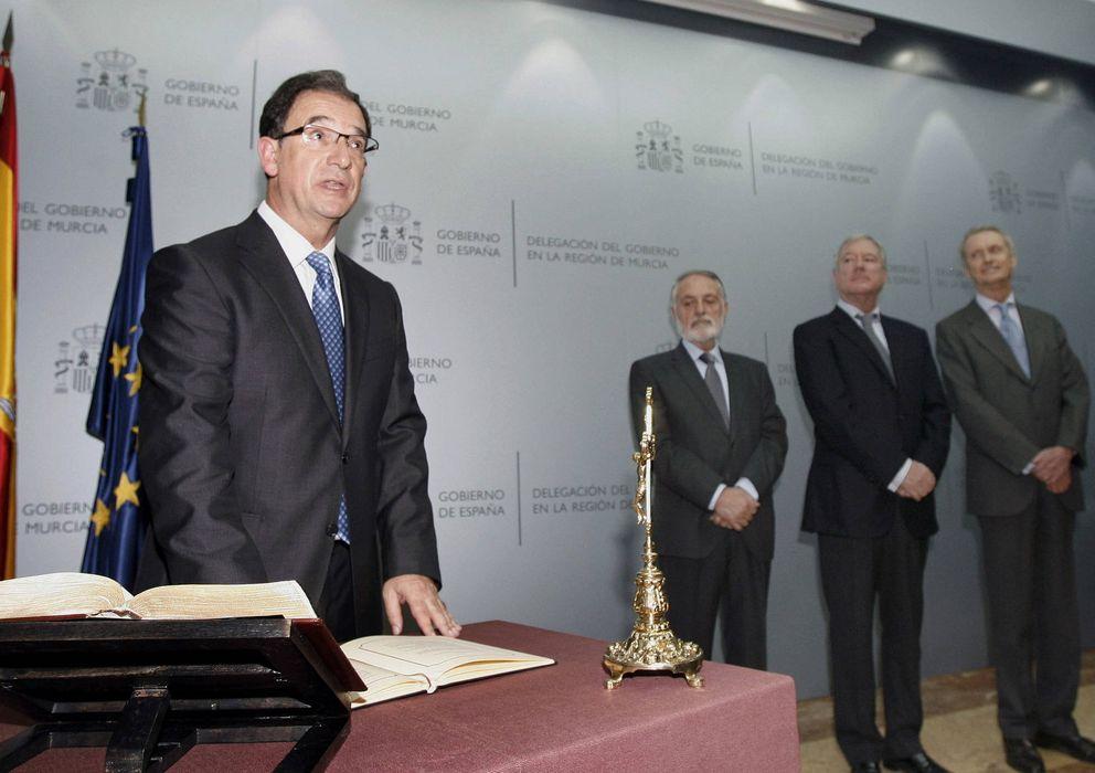 Foto: El delegado del Gobierno en Murcia, Joaquín Bascuñana. (EFE)