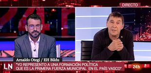 Post de La entrevista de TVE a Arnaldo Otegi dobla la audiencia de 'La noche en 24h'