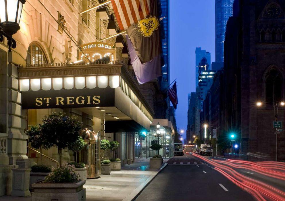 Foto: El hotel Saint Regis de Nueva York, donde tuvo lugar la ceremonia de Kappa Beta Phi.