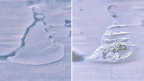 La Antártida se queda sin uno de sus lagos en tres días