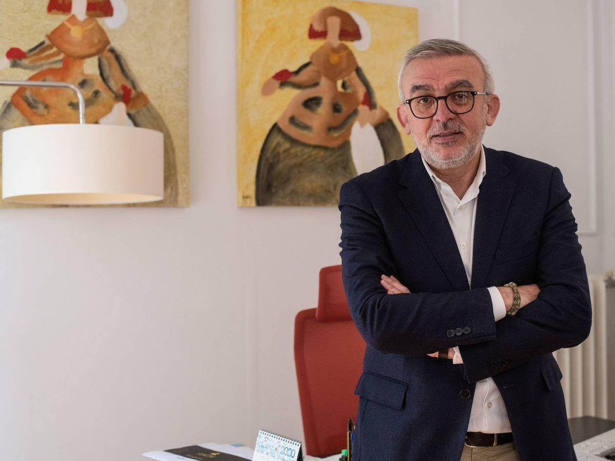 Foto: Alfonso López, fundador de Reti España. (Carmen Castellón)