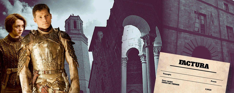 Foto: Jamie Lannister y Arya Stark en un fotomontaje realizado en Vanitatis