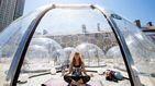 Instalan cúpulas individuales para practicar yoga en Toronto sin miedo al coronavirus