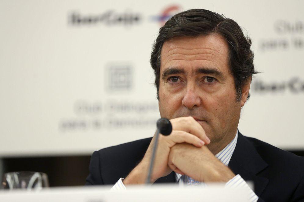 Foto: Presidente de Cepyme, Antonio Garamendi. (EFE)