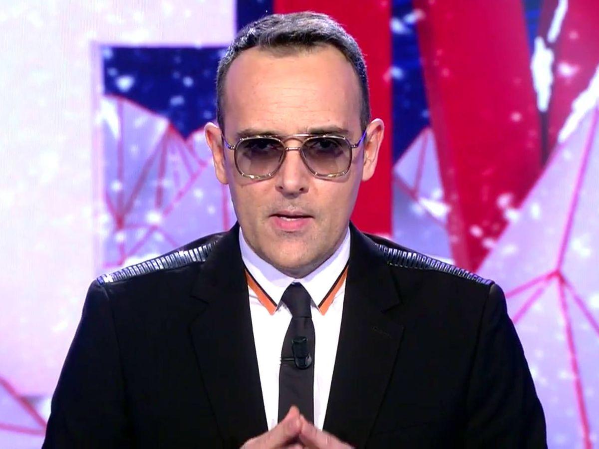Foto: Risto Mejide, presentador de 'Todo es mentira'. (Captura de Mediaset)