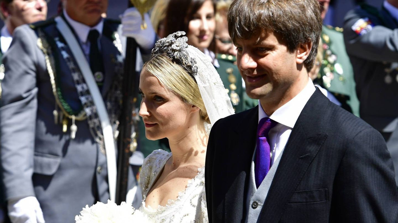 Ernesto de Hannover jr, el día de su boda con Ekaterina Malysheva. (Getty)