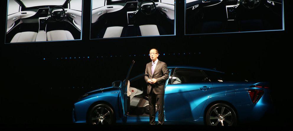 Foto: Toyota ha presentado el coche de hidrogeno Mirai (The Yomiuri Shimbun via AP Images )