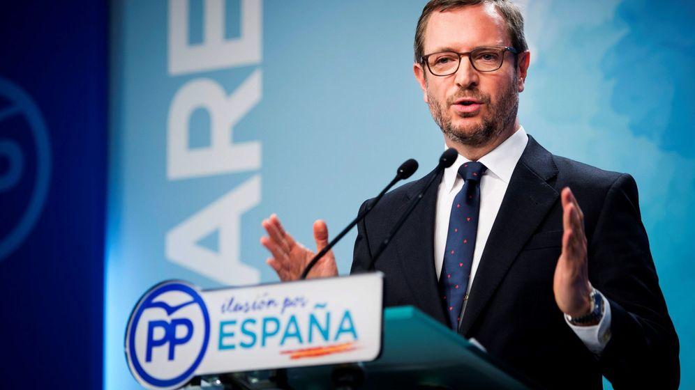 Foto: El vicesecretario del PP, Javier Maroto. (EFE)