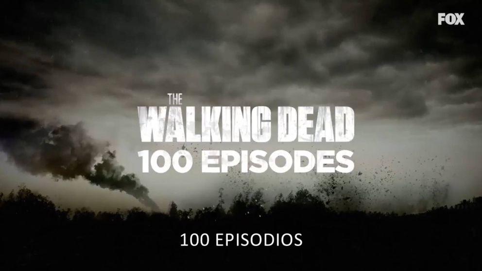 Los actores de 'The Walking Dead' agradecen los 100 capítulos a sus fans
