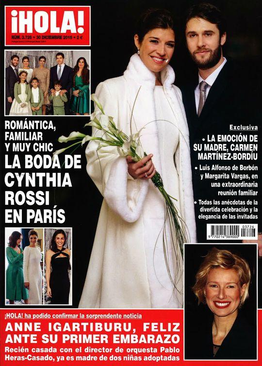 Foto: Portada de 'Hola' con la exclusiva de la boda