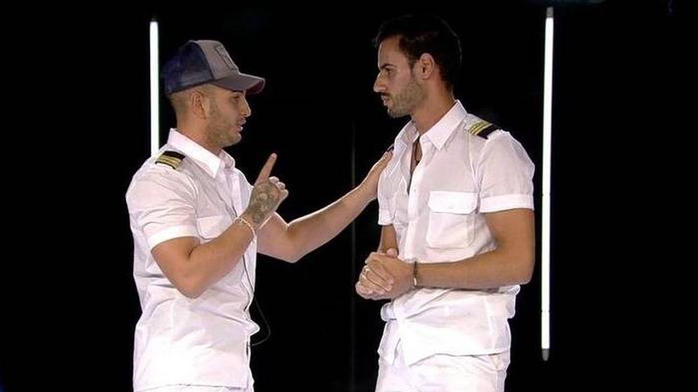 Foto: El juego sucio de Omar con Asraf en 'GH VIP 6'. (Telecinco)