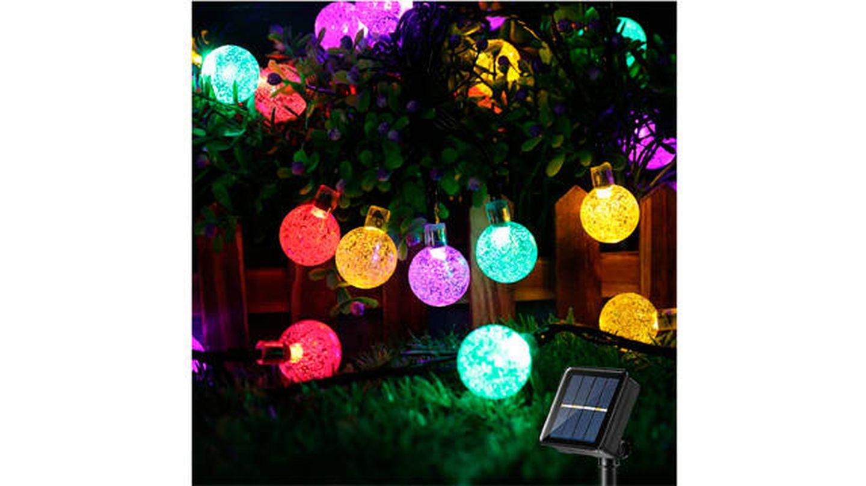 Luces LED Brizlabs tipo guirnaldas multicolor