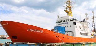 Post de El 'Aquarius', de buque de guardia en el Atlántico a rescatar en el Mediterráneo