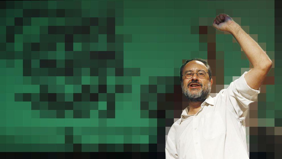 Antonio Baños, el 'showman' que se estampó contra Aznar