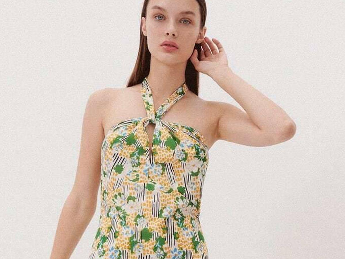 Foto: El vestido de Zara para triunfar. (Cortesía)