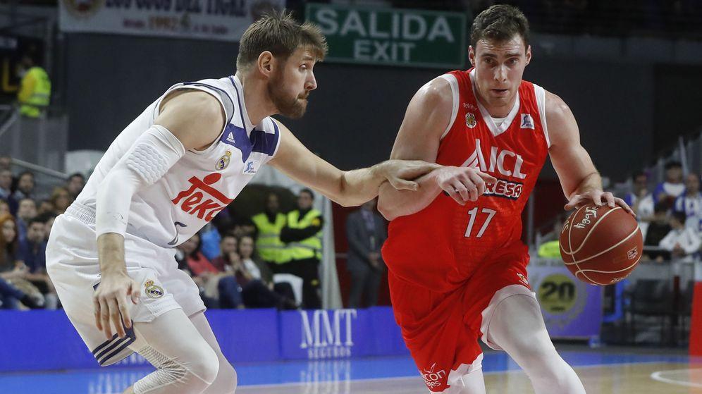 Foto: ¿Serán los de esta temporada los últimos 'playoffs' de la ACB? (Juan Carlos Hidalgo/EFE)