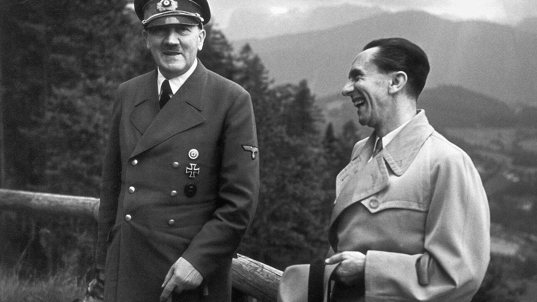 Hitler y Goebbels