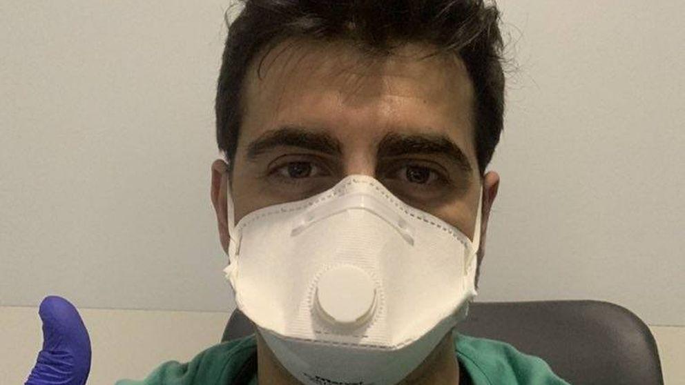 El día a día de Quique Ramos, médico y 'GH', que se deja la piel en el hospital