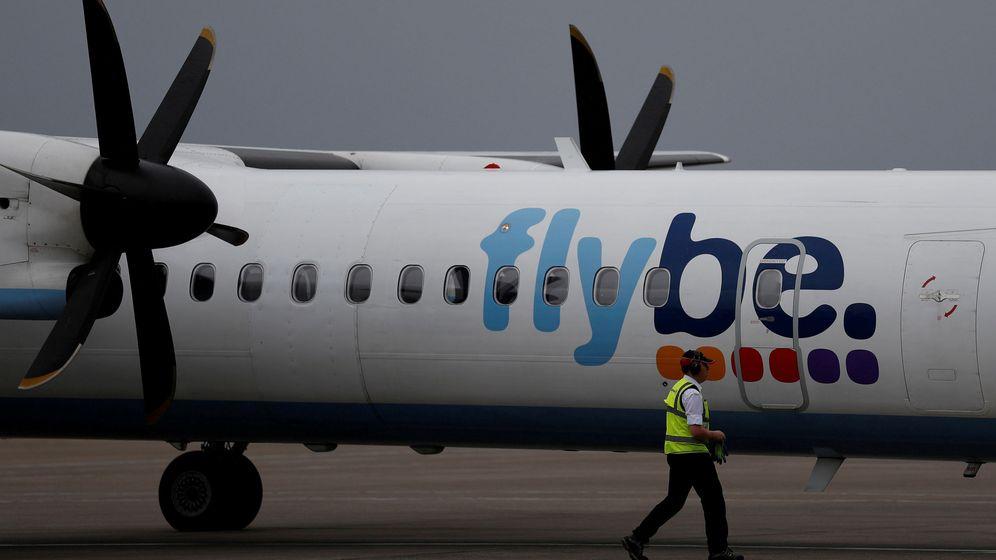 Foto: El logo de Flybe. (Reuters)