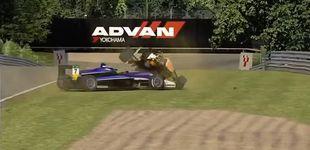 Post de Por qué Verstappen también la monta en los simuladores virtuales, y es tan 'crack'