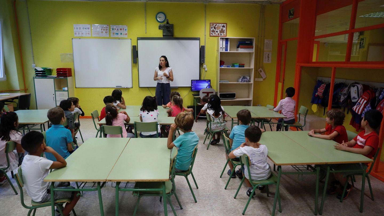 Inicio del pasado curso escolar. (EFE/Fernando Alvarado)