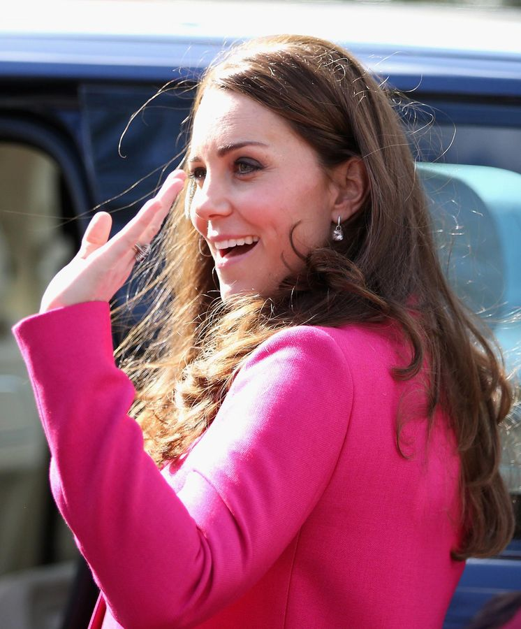 Foto: La duquesa de Cambridge entra en la recta final de su embarazo (Reuters)