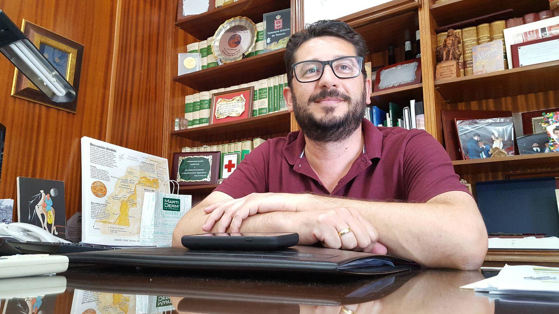 Jorge Rodríguez, alcalde de Trebujena (A.P.)