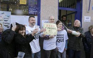 55.487, el Gordo de la Lotería del Niño, cae íntegro en Leganés